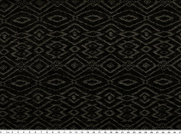 baumwoll feinstrick geom muster schwarz mausgrau 150cm gemustert strickware strickware. Black Bedroom Furniture Sets. Home Design Ideas