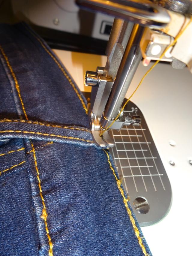 Bund machen jeans weiter Levi's Jeans