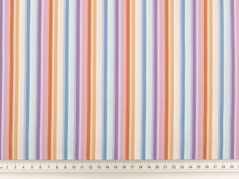 sch ner viskosestoff stretch streifen multicolor 140cm. Black Bedroom Furniture Sets. Home Design Ideas