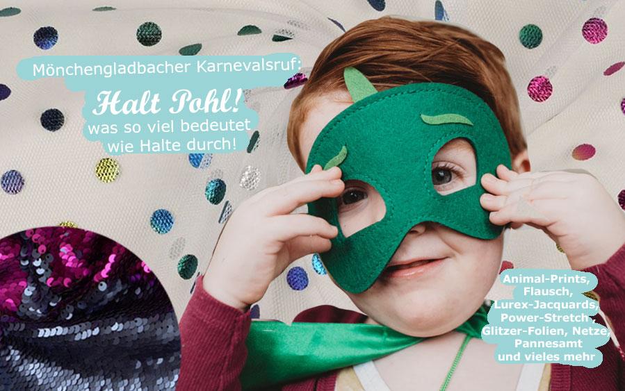 Karnevalsstoffe für die eigene Kostümgestaltung