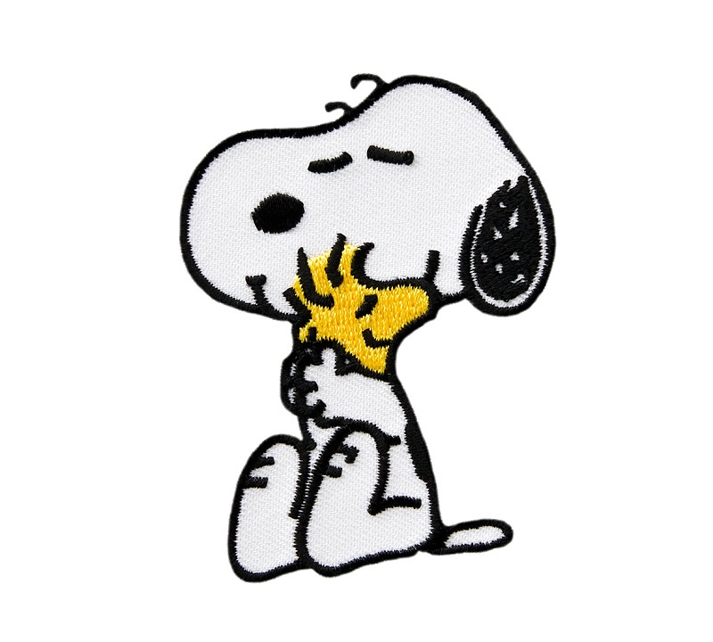 Applikation, Peanuts, Snoopy, 7cm | Diverse Applikationen ...