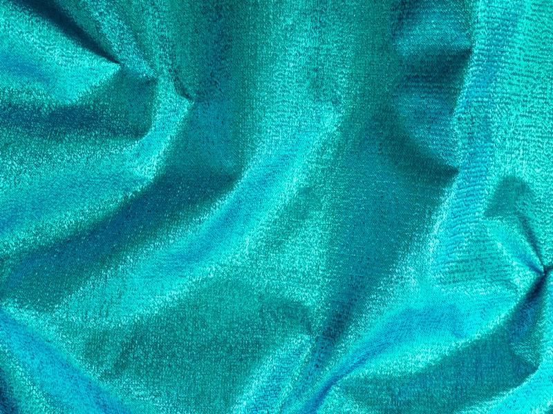 modischer lame stoff t rkis ca 133cm lam lurex karnevalsstoffe stoffe stoffe zanderino. Black Bedroom Furniture Sets. Home Design Ideas