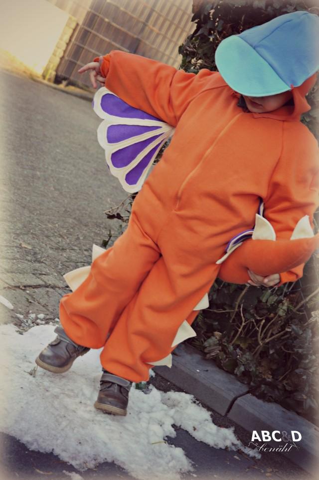 NÄHANLEITUNG - Drachen Kostüm für Karneval | Nähen | Kreativ-Blog ...