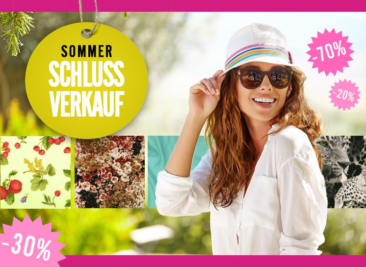 Sommerschlußverkauf