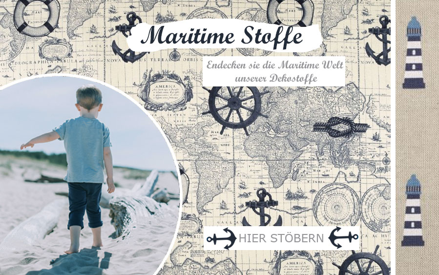 Maritime Stoffe