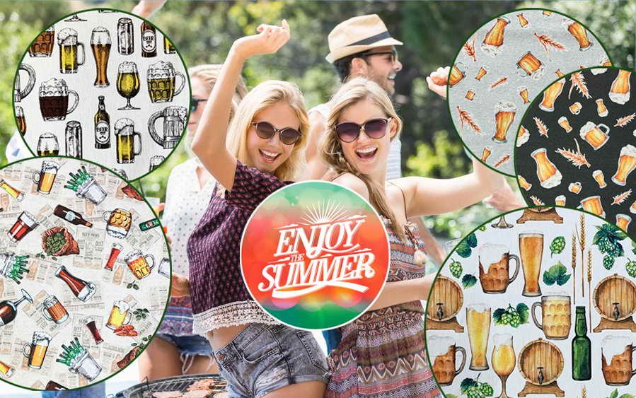 Stoffe für Ihre Sommerparty