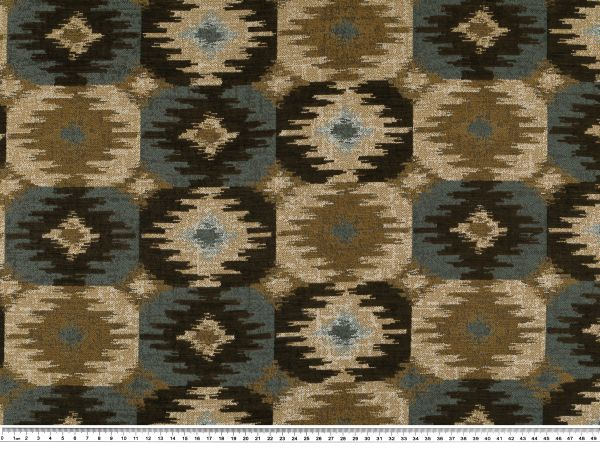 jacquard polsterstoff chenille braun blau beige 145cm m belstoffe stoffe g nstig stoffe. Black Bedroom Furniture Sets. Home Design Ideas