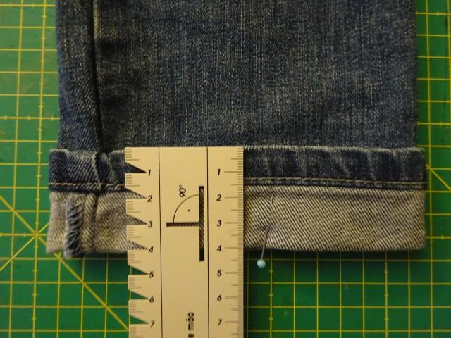 NÄHANLEITUNG Jeans kürzen und den Originalsaum erhalten