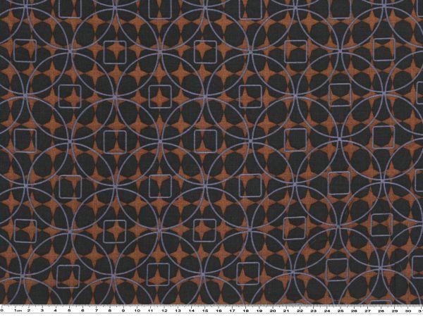 leichter stoff mit geometrischen motiven mehrfarbig. Black Bedroom Furniture Sets. Home Design Ideas