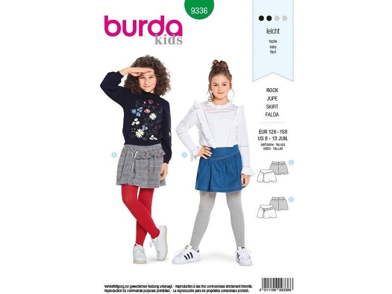 82d469c1fdb2 Viele BURDA Schnitte für Mädchen für schicke Kleider und Hosen.    Stoffe-Zanderino