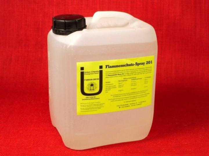 Feuerschutz spray 5 liter textil klasse b1 for Js innendekoration