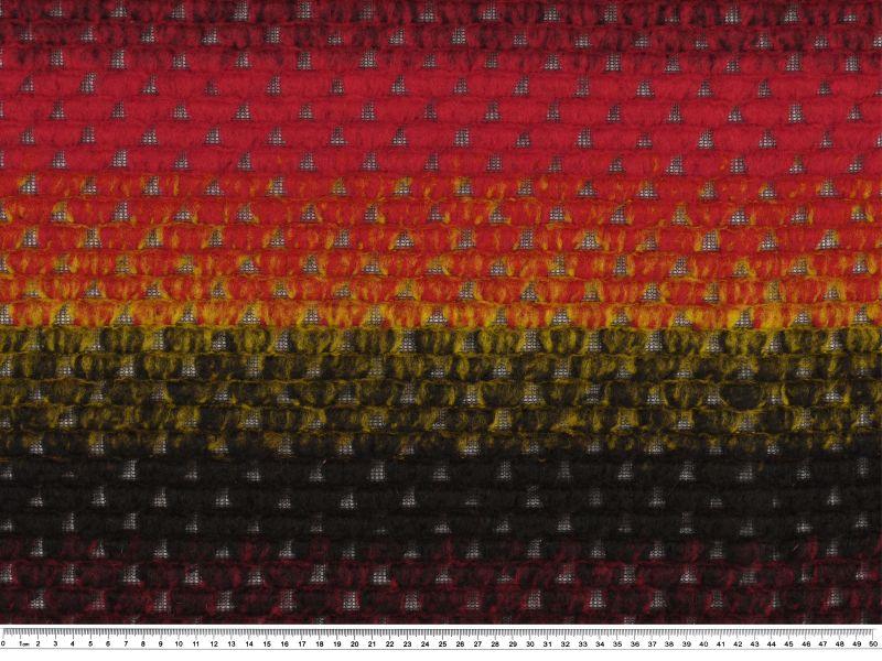 jacquard walk stoff multicolor 145cm loden. Black Bedroom Furniture Sets. Home Design Ideas