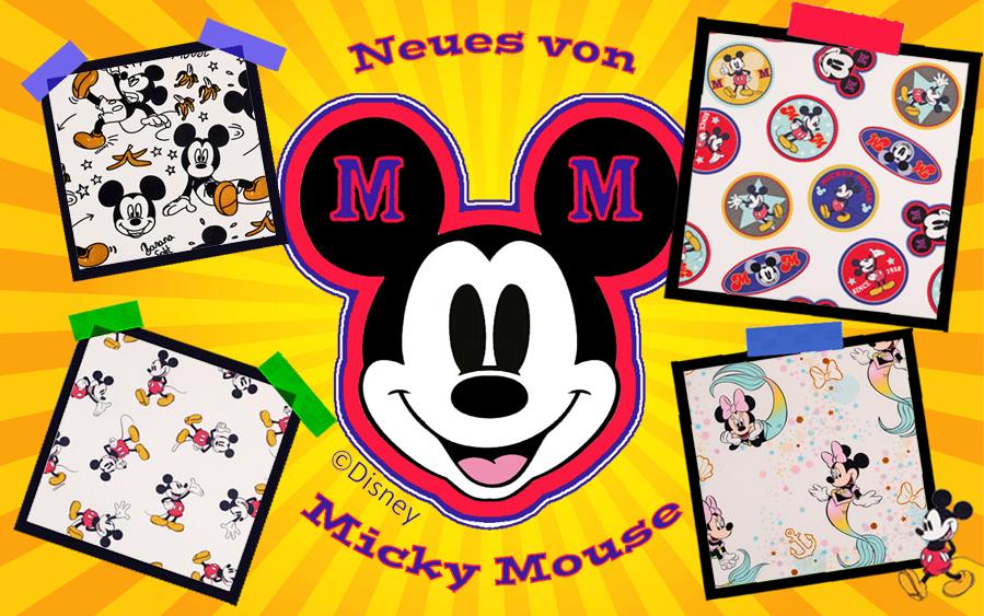 Stoffe mit  Disney Motiven