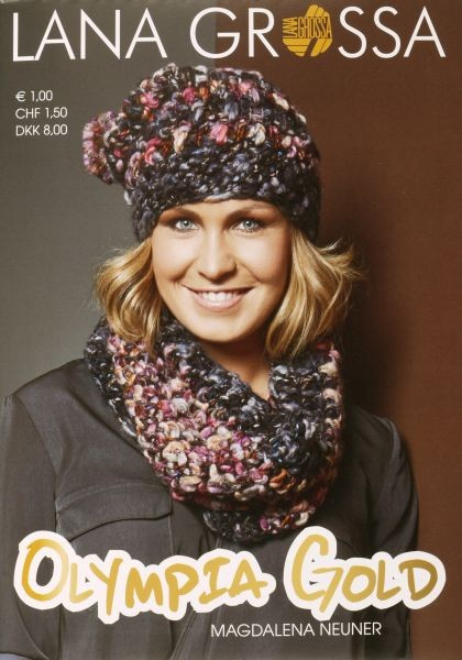 Strickanleitungen Olympia Gold Lana Grossa Zeitschriften