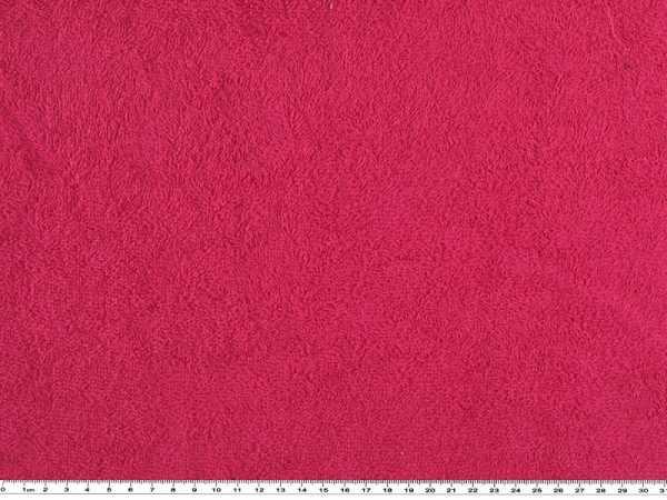 100 /% Baumwolle Frottee uni rot 150cm