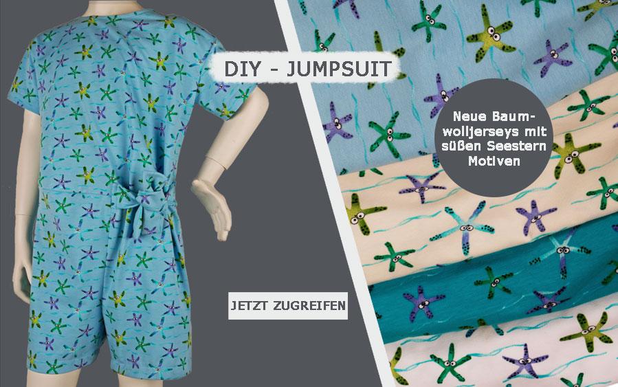 Nähanleitung: SPRING-SUMMER-JUMPSUIT KIDS