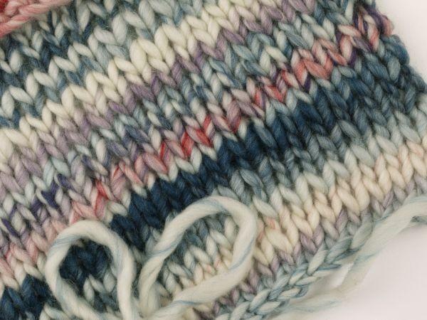 Lei Color Mix Schurwoll-Strickgarn, col. 252, 50g/ 40m   Ragazza Lei ...