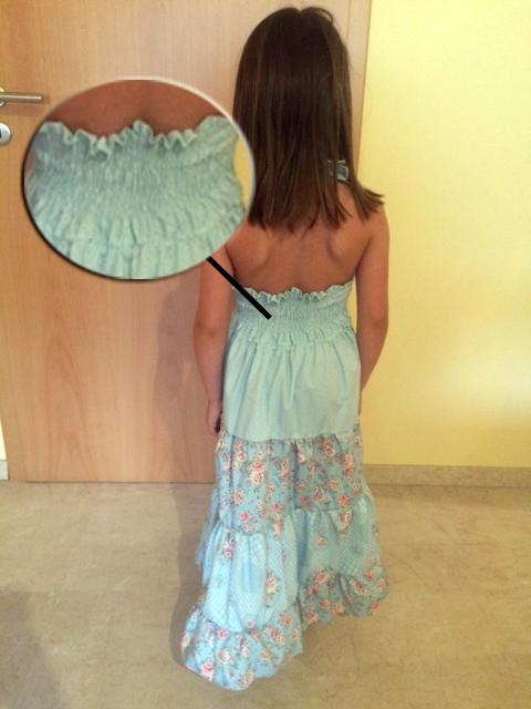 Kleid-Hinten