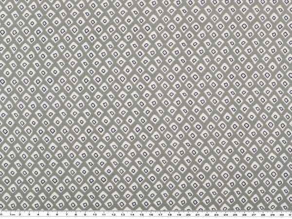 viscose mousseline grafische muster hellgrau 150cm karos blusenstoffe und hemdenstoffe. Black Bedroom Furniture Sets. Home Design Ideas