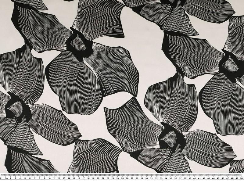 42e3eb5394cd Modetrends mit neuen schwarz-weiß Stoffen. Zeitlos und elegant ...
